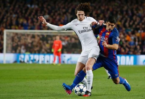 """Xavi įsitikinęs, kad A. Rabiot nesunkiai įsilietų į """"Barcelona"""" ekipos žaidimą"""