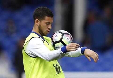 """R. Ferdinandas apie E. Hazardą: toks pat """"Man Utd"""" klube buvo C. Ronaldo"""