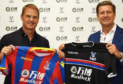 "Oficialu: ""Crystal Palace"" ekipą treniruos F. de Boeras"