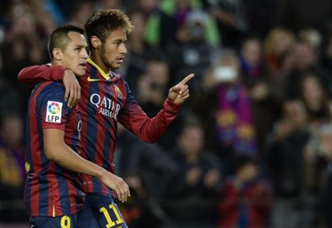 Neymaro neužtenka: PSG pasiekė susitarimą su A. Sanchezu