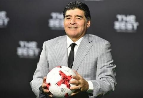 D.Maradona: V.Putinas pasauliui neša taiką