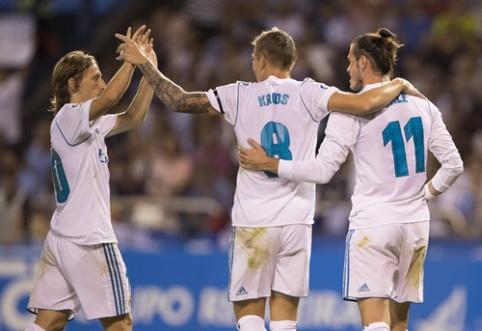 """""""Real"""" ir """"Barca"""" užtikrintai pradėjo Ispanijos pirmenybes (VIDEO)"""