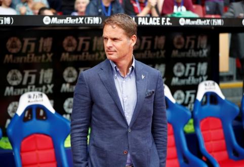 """F. de Boeris: praeityje atmečiau """"Barcos"""" ir """"Liverpool"""" pasiūlymus"""