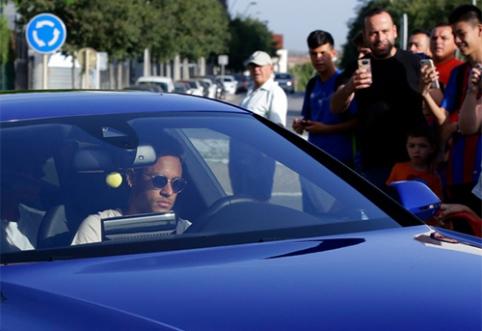 """Tai vyksta iš tiesų: """"Barcelona"""" leido Neymarui palikti treniruotę"""