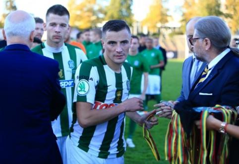 """Nemalonios naujienos """"Žalgiriui"""": diskvalifikuotas E. Vaitkūnas ir skirta UEFA bauda"""