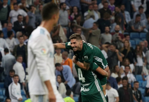 """""""Real"""" krachas Ispanijoje tęsiasi: """"Real Betis"""" paskutinę minutę išplėšė pergalę (VIDEO)"""