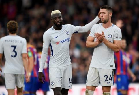 """Pirmuosius įvarčius lygoje pelnęs """"Crystal Palace"""" pamokė čempionus, """"Watford"""" dramatiškai nukovė """"Arsenal"""" (VIDEO)"""