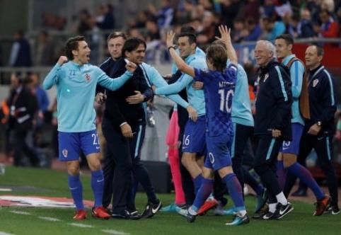 Kelialapius į pasaulio čempionatą užsitikrino Šveicarija bei Kroatija (VIDEO)