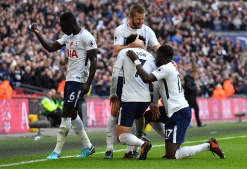 """""""Tottenham"""" tik po sunkios kovos palaužė """"Crystal Palace"""""""