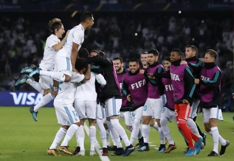 """""""Real"""" antrus metus iš eilės triumfavo FIFA pasaulio klubų taurėje (VIDEO)"""
