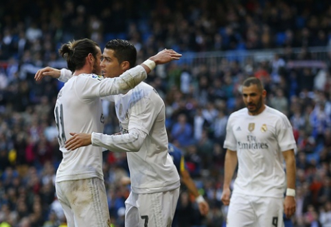 C. Ronaldo: laukiu, kada ir vėl galėsime žaisti kartu su G. Bale'u