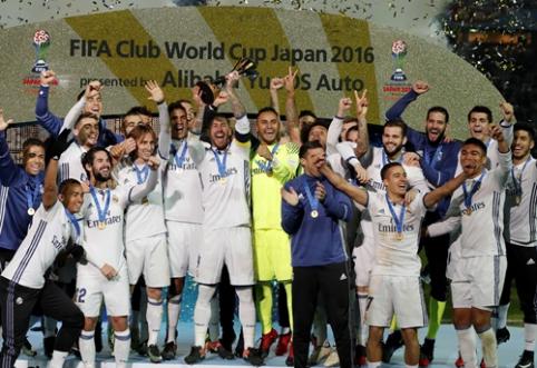 """""""Real"""" išvyko į JAE bandyti apginti FIFA pasaulio klubų taurę (sudėtis)"""