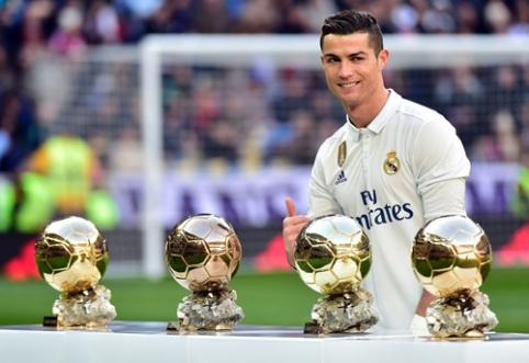 """Šiandien paaiškės """"Auksinio kamuolio"""" laimėtojas (visi pretendentai)"""