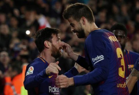 G. Pique: Messi reikia konkurencingos komandos
