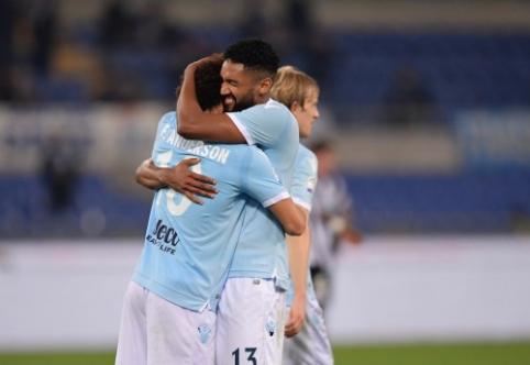 """Italijos čempionate - triuškinanti """"Lazio"""" pergalė ir """"Roma"""" lygiosios (VIDEO)"""