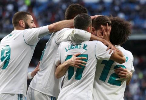 """Atsigavęs """"Real"""" puolimas pervažiavo """"Deportivo"""", """"Barca"""" sutriuškino """"Real Betis"""" (VIDEO)"""