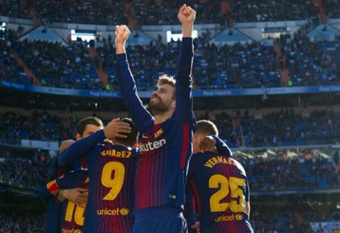 """""""Barcelona"""" pasirašė naują sutartį su G. Pique"""