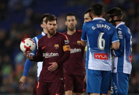 """Karaliaus taurės ketvirtfinalyje - """"Barcelona"""" ir """"Atletico"""" nesėkmės (VIDEO)"""