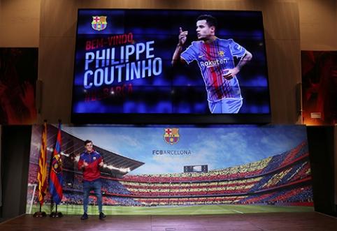 Populiariausios savaitės naujienos: Ph.Coutinho drama ir C.Ronaldo