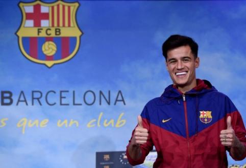 """P. Coutinho jau galima išvysti su """"Barcos"""" apranga (VIDEO)"""