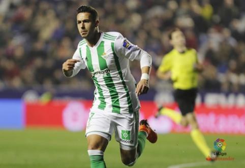 """""""Real Betis"""" išvykoje palaužė """"Levante"""" (VIDEO)"""