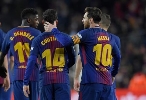 E. Valverde: Coutinho ir Dembele progresuoja