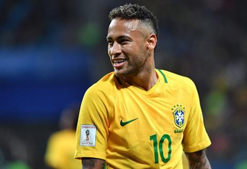 Brazilų legenda pasibaisėjo Neymaru: auginame monstrą