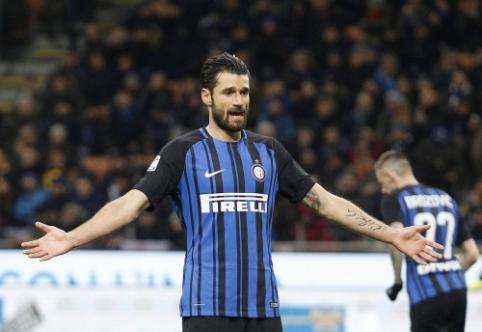 """""""Sampdoria"""" ir """"Inter"""" prarado taškus Italijoje (VIDEO)"""
