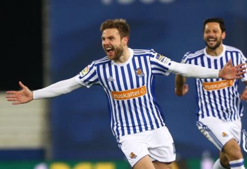 """Pralaimėjimų seriją nutraukęs """"Real Sociedad"""" pyktį išliejo ant """"Deportivo"""""""