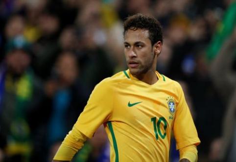 Brazilijos rinktinės treneris: Neymaras yra nepakeičiamas