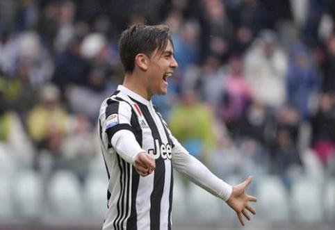 """""""Juventus"""" ir """"AC Milan"""" iškovojo pergales, """"Lazio"""" išplėšė lygiąsias, o """"Napoli"""" ir """"Inter"""" išsiskyrė taikiai (VIDEO)"""