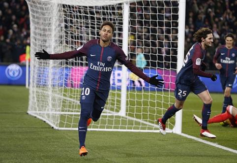 PSG nustatė Neymaro išpirkos kainą, brazilas svarsto apie sugrįžimą