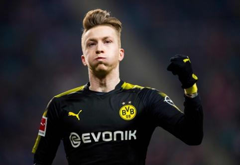 """""""Leipzig"""" ir """"Borussia"""" išsiskyrė lygiosiomis, """"Schalke"""" pakilo į antrąją poziciją (VIDEO)"""