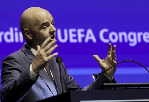 FIFA galutinį sprendimą dėl VAR naudojimo pasaulio čempionate priims kovo 16 dieną