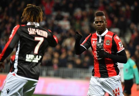 """""""Nice"""" rungtynių pabaigoje palaužė """"Lille"""", """"Monaco"""" įveikė """"Bordeaux"""" (VIDEO)"""