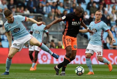 ''Celta'' ir ''Valencia'' klubų akistatoje - lygiosios (VIDEO)