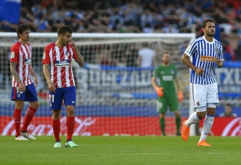 ''Atletico'' patyrė triuškinančią nesėkmę San Sebastiane (VIDEO)