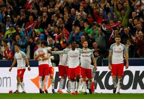 """""""Lazio"""" patyrė fiasko Austrijoje, """"Marseille"""" išnešė sveiką kailį prieš """"RB Leipzig"""" (VIDEO)"""