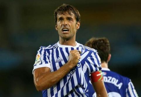 """""""Real Sociedad"""" legenda X. Prieto po sezono baigs karjerą"""