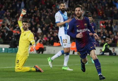 "Ispanijoje - L. Messi ir I. Aspaso ""hat-trickai"" (VIDEO)"