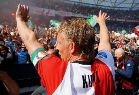 """D. Kuytas taps """"Feyenoord"""" jaunimo komandos vairininku"""