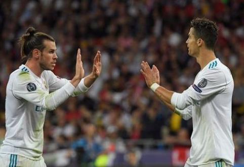 """Naujųjų """"Real"""" aprangų pristatymas ir su G. Bale'u"""
