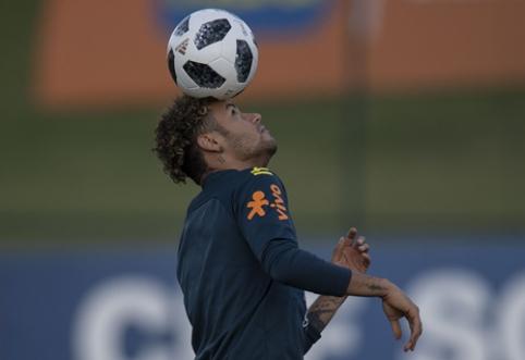 Neymaras: visada norėjau dirbti su P. Guardiola