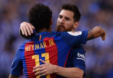 L. Messi: Neymaro persikėlimas į Madridą būtų siaubingas