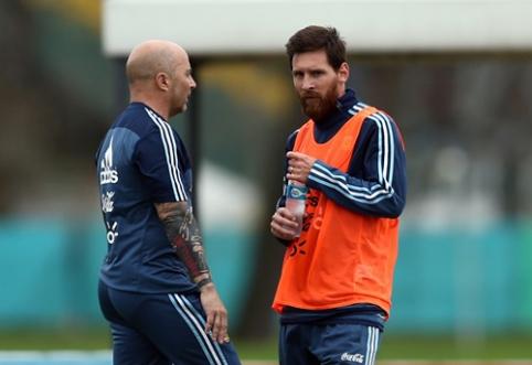 Pasaulio čempionato link: sudėtis paskelbė Argentina ir Kolumbija