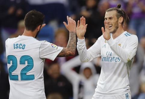 """""""Real"""" puolimo mašina nubloškė """"Celta"""" ekipą, """"Atletico"""" išvargo pergalę (VIDEO)"""