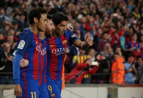 Neymaras: pasiilgau Messi ir Suarezo