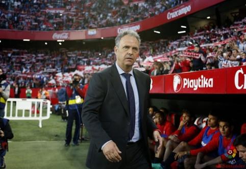 """Trenerį pakeitusi """"Sevilla"""" nutraukė septynių nelaimėtų rungtynių seriją Ispanijoje (VIDEO)"""