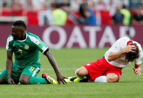 Fiziškumu lenkus pranokusi Senegalo rinktinė šventė pirmąją pergalę (VIDEO)