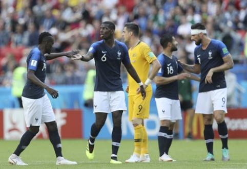 Prancūzijos rinktinė po sunkios kovos palaužė Australiją (VIDEO, FOTO)